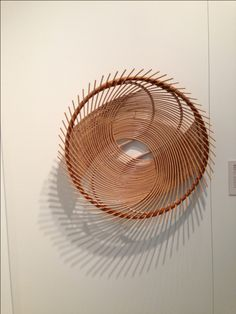 These Delicate Yet Strong Bamboo Baskets Are By Japanese Artist