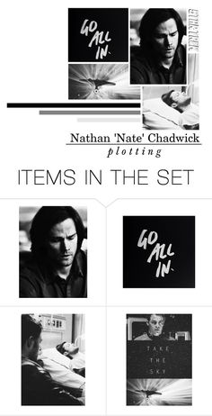 """Nathan 'Nate' Chadwick// plotting set// Starship Enterprise"" by ellie-288 ❤ liked on Polyvore featuring art and vintage"