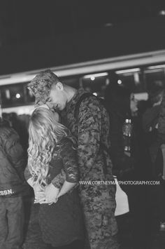 Military Homecoming // Cortney May Photography