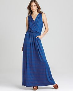Michael Stars Maxi Dress - Giselle Surplice   Bloomingdale's