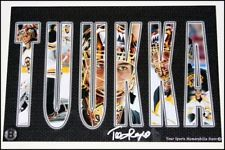 Idea for family and other sports pics Sports Pictures, Boston Bruins, Hockey, Paper Crafts, Style, Paper Craft Work, Field Hockey, Papercraft, Paper Crafting