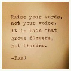 Lift your words, your vibration follows...