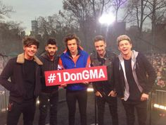 One Direction on GMA.  #OneAddition #rations