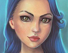 "Check out new work on my @Behance portfolio: ""Blue Portrait"" http://be.net/gallery/36649835/Blue-Portrait"