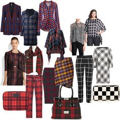 Collage gemaakt door S-Kwadraat Imago Stylist Carousel, Stylists, Fall Winter, Collage, Check, Polyvore, Prints, Image, Fashion