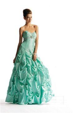 Sleeveless Floor-length Taffeta A-line Sweet 16 #Dress Style Code: 00614 $169