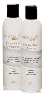 Melanplus Anti Gray Hair Shampoo and Conditioner Set