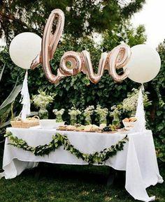 decoração casamento simples