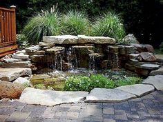 wasserspiel garten Awesome Fish Ponds Design Ideas For Your Backyard Landscape 42 Awesome Fish Ponds Design Ideas For Your Backyard Awesome Fish Ponds Design Ideas For Your Backyard Landscape Fish Ponds Backyard, Backyard Water Feature, Garden Ponds, Garden Tips, Patio Pond, Fish Garden, Backyard Waterfalls, Veg Garden, Outdoor Water Features