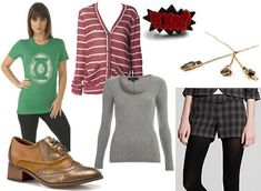 Outfit inspired by Sheldon from the Big Bang Theory.. Jenn, i thought you would like this:p
