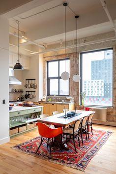 Apartment Interior, Apartment Design, Loft Apartment Decorating, Loft Interiors, Interior Architecture, Loft Interior Design, Home And Living, Living Spaces, Sweet Home