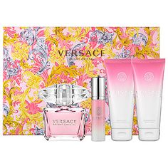 Mother's Day Gift Ideas: Versace Bright Crystal Gift Set  #sephora #mothersday