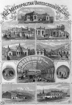 Promotional post for the Metropolitan Railway from 1863. Many thanks to @HistoryNeedsYou