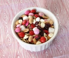 Valentine's Day themed trail mix   Jamie's Recipes