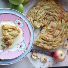 Äppelkaka med Kardemumma & Vanilj | Fridas bakblogg