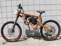 homemade motoped