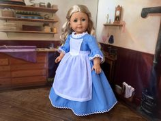 1700s 3 Piece Colonial Day Dress Set for Felicity by kgabor19