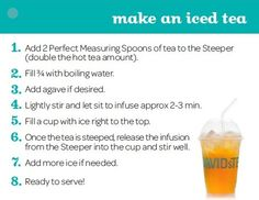 Make an Iced Tea by DAVID'sTEA, via Flickr