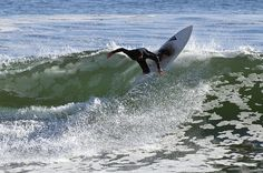 Asilomar Beach in Pacific Grove is a popular place to surf!