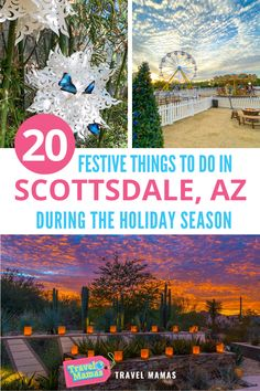 The holiday season is brimming with merry activities in the Valley of the Sun, especially with this array of festive Scottsdale Christmas events. Celebrate the season with lights displays, kid-friendly amusements, special dining experiences, and other revelry. Enjoy a jolly season with these 20 things to do during the winter holidays in Scottsdale, Arizona.#arizona #travelwithkids #scottsdale #christmas