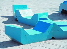 PPAG architects - Yard furniture MuseumsQuartier Vienna