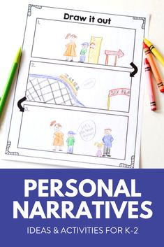 This personal narratives unit is full of lessons, ideas, and rubrics to walk you through exactly how to teach students to write small moment stories. This writing unit is great for kindergarten, first and second grade students.