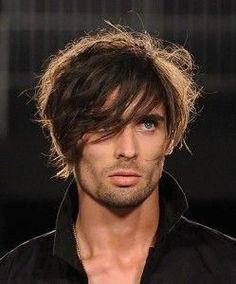 Men's Hairstyles - Medium Length Hairstyles for Men - Pictures of men's hairstyles. Medium length shaggy hairstyles for men. Mens Hairstyles 2014, Mens Modern Hairstyles, 1970s Hairstyles, Haircuts For Men, Cool Hairstyles, Shaggy Hairstyles, Hairstyle Men, Urban Hairstyles, Japanese Hairstyles