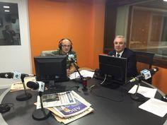 """Antonio Banda, CEO de Feelcapital, junto al periodista económico Manuel Tortajada en el programa Visión Global de Radio Intereconomía: """"Nuestra mejor cartera ha obtenido una rentabilidad media en marzo de un 3,78%"""" #FondosDeInversión (7 de abril de 2015)."""