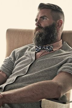 "(via Gregory Broome Photographed by David Burgoyne for ""Beard is the new Black"")"
