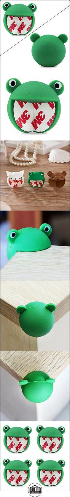 Protectores de la esquina bebé hijo seguro silicona tabla Protector Corner protección de borde de la cubierta de la rana verde paquete de 4  ✿ Seguridad para tu bebé - (Protege a tus hijos) ✿ ▬► Ver oferta: http://comprar.io/goto/B018A51A9G