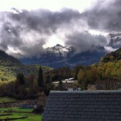 Día casero con nieve en los picos... What else?