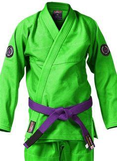 Tatami Estilo Classic Jiu Jitsu Gi - Green