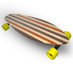 27.5 in. La Jolla Complete Longboard, GoldCoast Skateboards