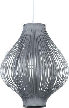 Lampa wisząca Sillo szara