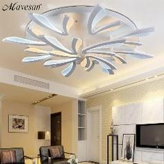 Ceiling Lights Lights & Lighting Living Room Bedroom Led Ceiling Lights Modern 150w Kitchen Lamps Las Luces Del Techo Led Ceiling Lighting Fixtures Plafondlamp Regular Tea Drinking Improves Your Health