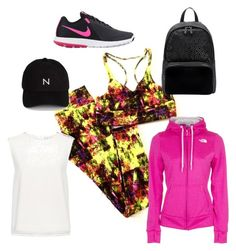 A fashion look from September 2016 featuring sleeveless blouse, The North Face and laced up flats. Browse and shop related looks. Sleeveless Blouse, Adidas, The North Face, Polyvore, Fashion Looks, Lace Up, Finders Keepers, Nike, Shopping