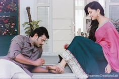 Anushka pranushka pranushka police police prabhas Mystery / thriller The story revo. Romantic Love Couple, Perfect Couple, Prabhas And Anushka, Prabhas Pics, Pictures, Cute Love Images, Anushka Photos, Cute Couples Photos, Sr K