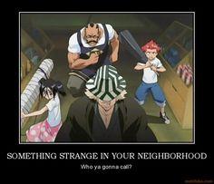 SOMETHING STRANGE IN YOUR NEIGHBORHOOD
