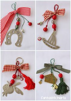 Christmas Love, Christmas Design, Christmas Gifts, Xmas, Christmas Ornaments, Lucky Charm, Crafts For Kids, Charmed, Drop Earrings