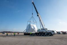 Orion Spacecraft for Artemis I Mission Arrives at NASA Plum Brook | NASA