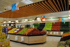 Supermarkets grocery store designs