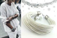 Zimowa ❄ aura zainspirowała mnie do stworzenia śnieżno białej bransoletki 📿sznurkowej z modową stylizacją. Zima= ciepłe swetry 💙Te i inne bransoletki na sznurku znajdziecie na 🛒 https://ecobizuteria.pl/20-bransoletki-sznurek #biżuteria #bransoletki #bransoletka #bransoletkisznurek #bransoletkisznurkowe #bransoletkisznurki #bransoletkisznureczki #bransoletkasznurek #bransoletkasznurkowa #bransoletkasznurki #bransoletkasznurki #bransoletkasznureczki #bransoletkabiała #ecobizuteria…
