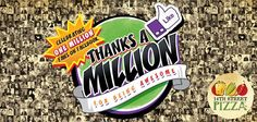 It's your time to shine as 14th STREET PIZZA hit the Million mark on FB