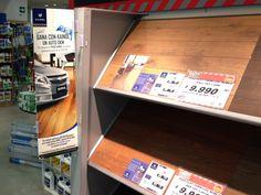Producción stoppers para tiendas Easy a nivel nacional promocional campaña Kaindl Regala un auto 0 kilometros
