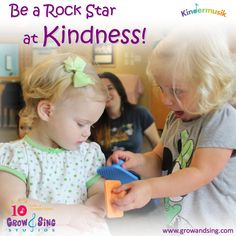 Captured this beautiful picture today in ‪#‎kindermusik‬ class, and had to pair it with a quote! Be a rock star at Kindness! www.growandsing.com #music   #musiceducationquotes   #kindness   #kindermusik   #growandsing   #growandsingstudios   #orlandokindermusik   #kindermusikorlando   #kindermusikplaydate   #childdevelopment   #musicquotes   #quotestoliveby   #quotesonlife   #orlando