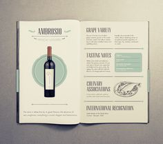 Vincon Brochure by Paula Rusu, via Behance