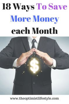 Saving money is absolutely fundamental to personal finance in that it can help you to pay off your debts, pay for any emergencies, save a deposit for a house or it can even bring you closer to financial freedom. Below are 18 ways to save money each month. Save Money On Groceries, Ways To Save Money, Money Tips, Money Saving Tips, Earn Money, Money Hacks, Money Fast, Money Saving Challenge, Financial Tips