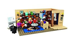 LEGO Ideas The Big Bang Theory 21302 Building Kit Build Leonard and Sheldon's living room for display and role play! Construct the detailed LEGO Ideas version Model Building, Building Toys, Big Bang Theory Set, Arma Nerf, Lego Mini, Modele Lego, Construction Lego, Lego Pictures, Entertainment