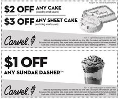 Carvel – Free On Your Birthday