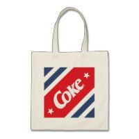 Coke and Two Stars Tote Bag
